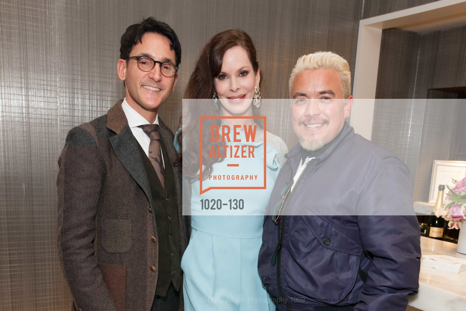 James Krohn, Stephanie Marver, Victor Vargas, Electric Fashion Book Signing with Christine Suppes & Ken Downing, Neiman Marcus, Rotunda, May 26th, 2015,Drew Altizer, Drew Altizer Photography, full-service agency, private events, San Francisco photographer, photographer california