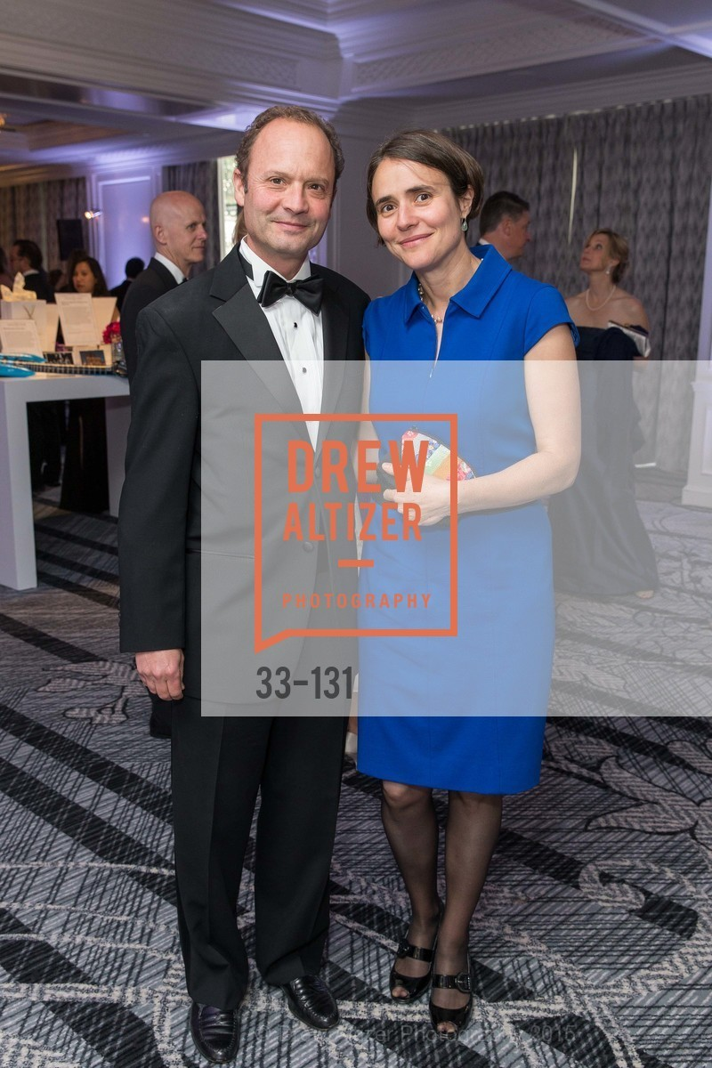 Steve Titelman, Anna Bakardjiev, JUVENILE DIABETES RESEARCH FOUNDATION  Hope Gala, The Ritz-Carlton, May 29th, 2015