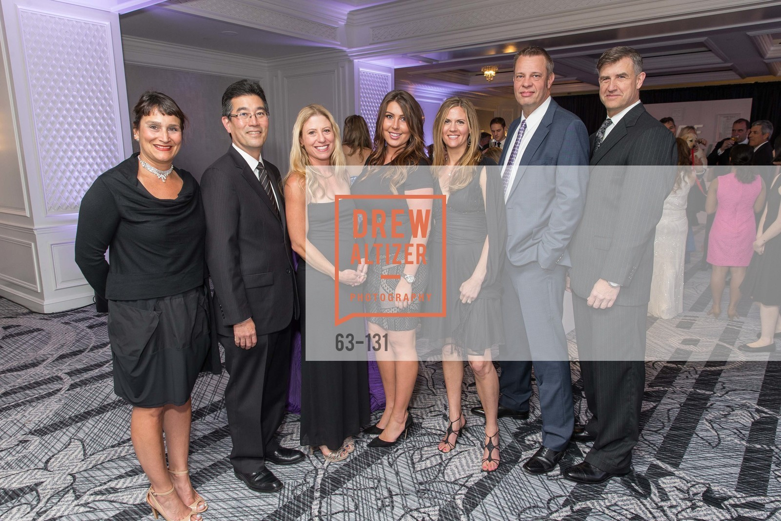 Soraya Petroff, Brian Nakamoto, Sarah Marchi, Erica Johnson, Robin Bjornstad, Peter Kruger, Wayne Mielke, JUVENILE DIABETES RESEARCH FOUNDATION  Hope Gala, The Ritz-Carlton, May 29th, 2015,Drew Altizer, Drew Altizer Photography, full-service agency, private events, San Francisco photographer, photographer california