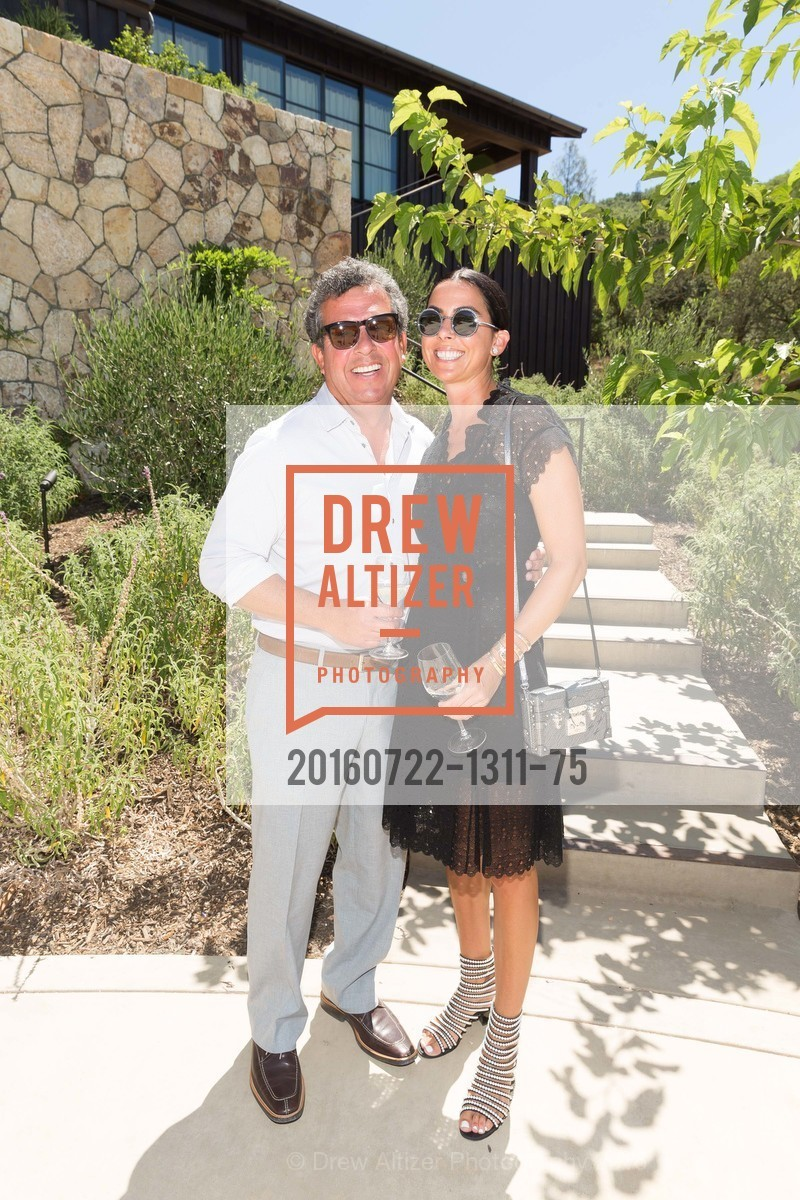 Bob Torres, Maria Torres, Festival Napa Valley: Bulgari Luncheon at Davis Estates, Davis Estates. 4060 SILVERADO TRAIL, July 22nd, 2016