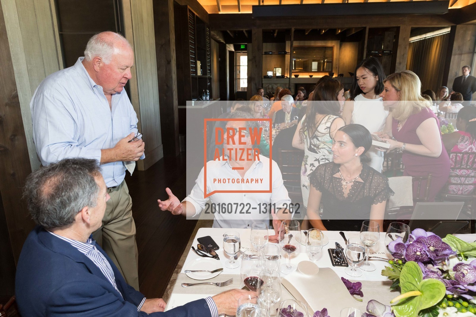 Mike Davis, Bob Torres, Maria Torres, Festival Napa Valley: Bulgari Luncheon at Davis Estates, Davis Estates. 4060 SILVERADO TRAIL, July 22nd, 2016