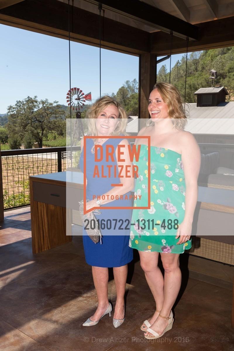 Sandy Davis, Kara Davis, Festival Napa Valley: Bulgari Luncheon at Davis Estates, Davis Estates. 4060 SILVERADO TRAIL, July 22nd, 2016