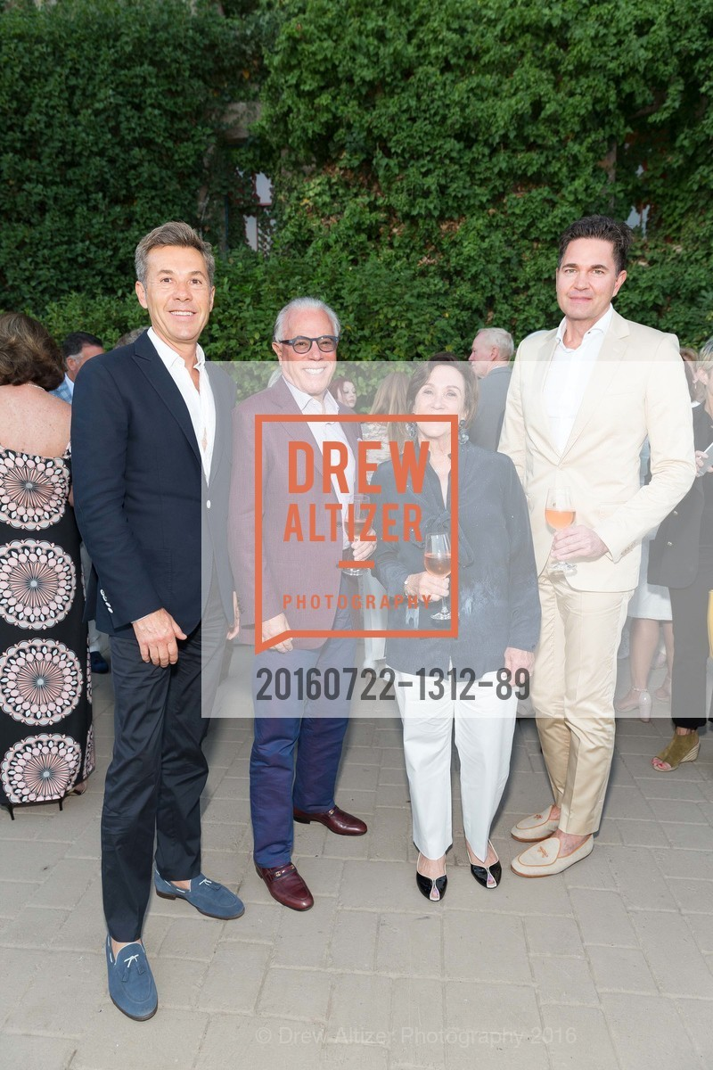 Craig Card, Stephen Bley, Sandra Bley, Alex Chases, Festival Napa Valley Patron Dinner at The Culinary Institute of America, The Culinary Institute of America. 2555 Main Street, July 22nd, 2016