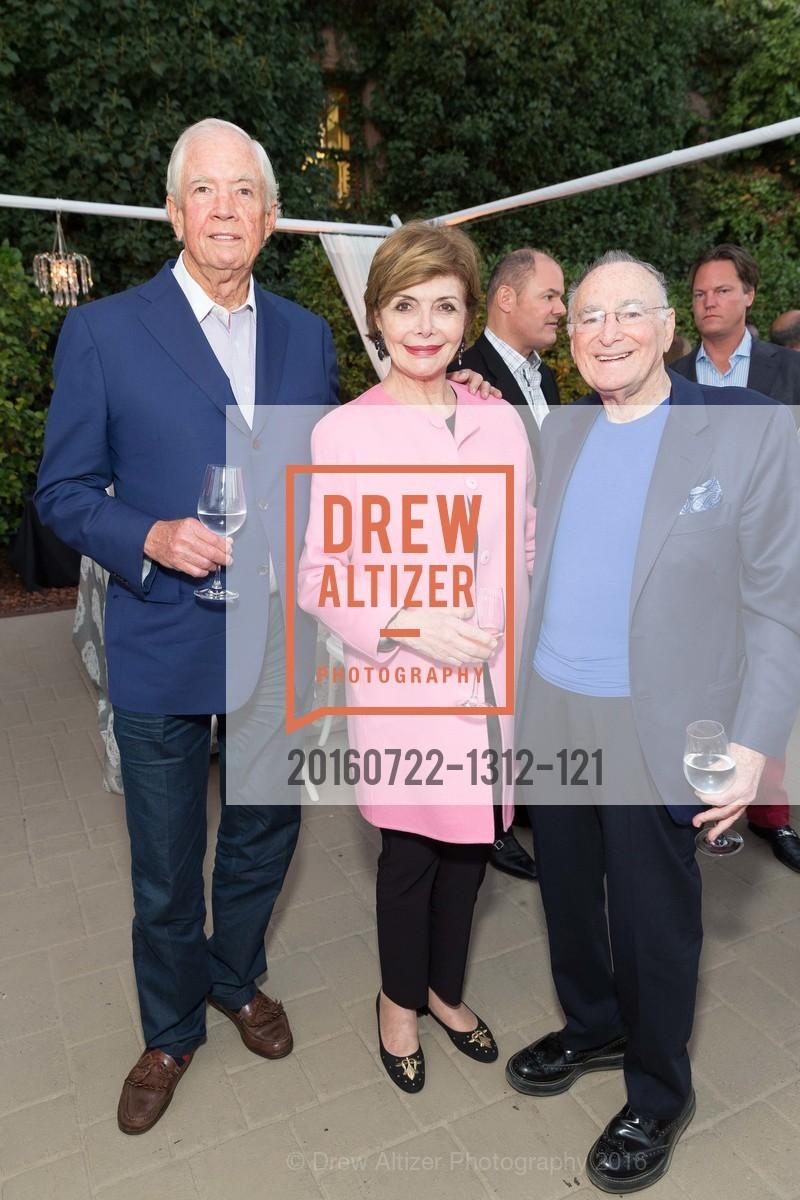 Peter Mullin, Merle Mullin, Jan Shrem, Photo #20160722-1312-121