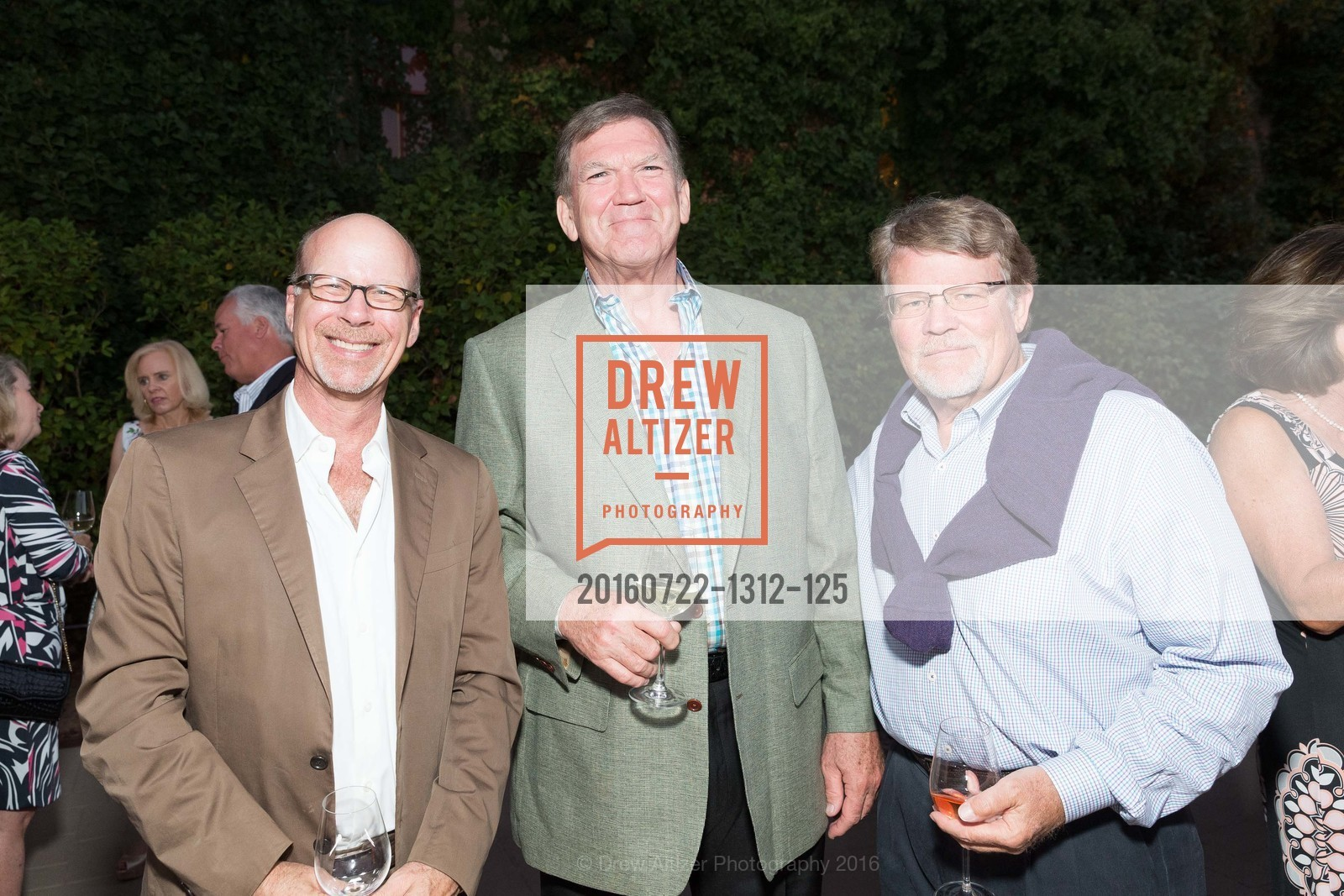 Rick Shephard, Mike Casey, Jim Parks, Festival Napa Valley Patron Dinner at The Culinary Institute of America, The Culinary Institute of America. 2555 Main Street, July 22nd, 2016