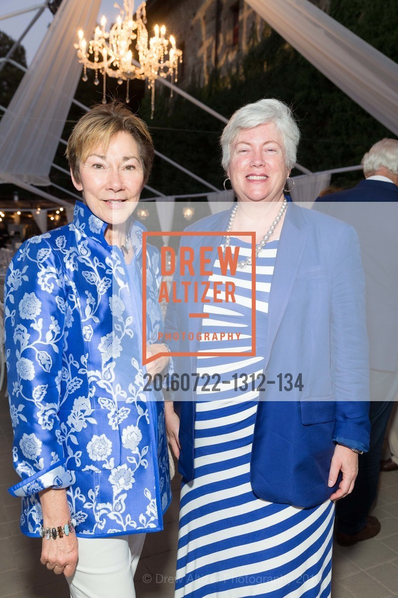 Eileen Crane, Leslie Berglund, Festival Napa Valley Patron Dinner at The Culinary Institute of America, The Culinary Institute of America. 2555 Main Street, July 22nd, 2016