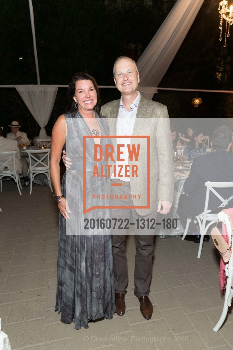 Michelle Baggett, Steven Stull, Festival Napa Valley Patron Dinner at The Culinary Institute of America, The Culinary Institute of America. 2555 Main Street, July 22nd, 2016