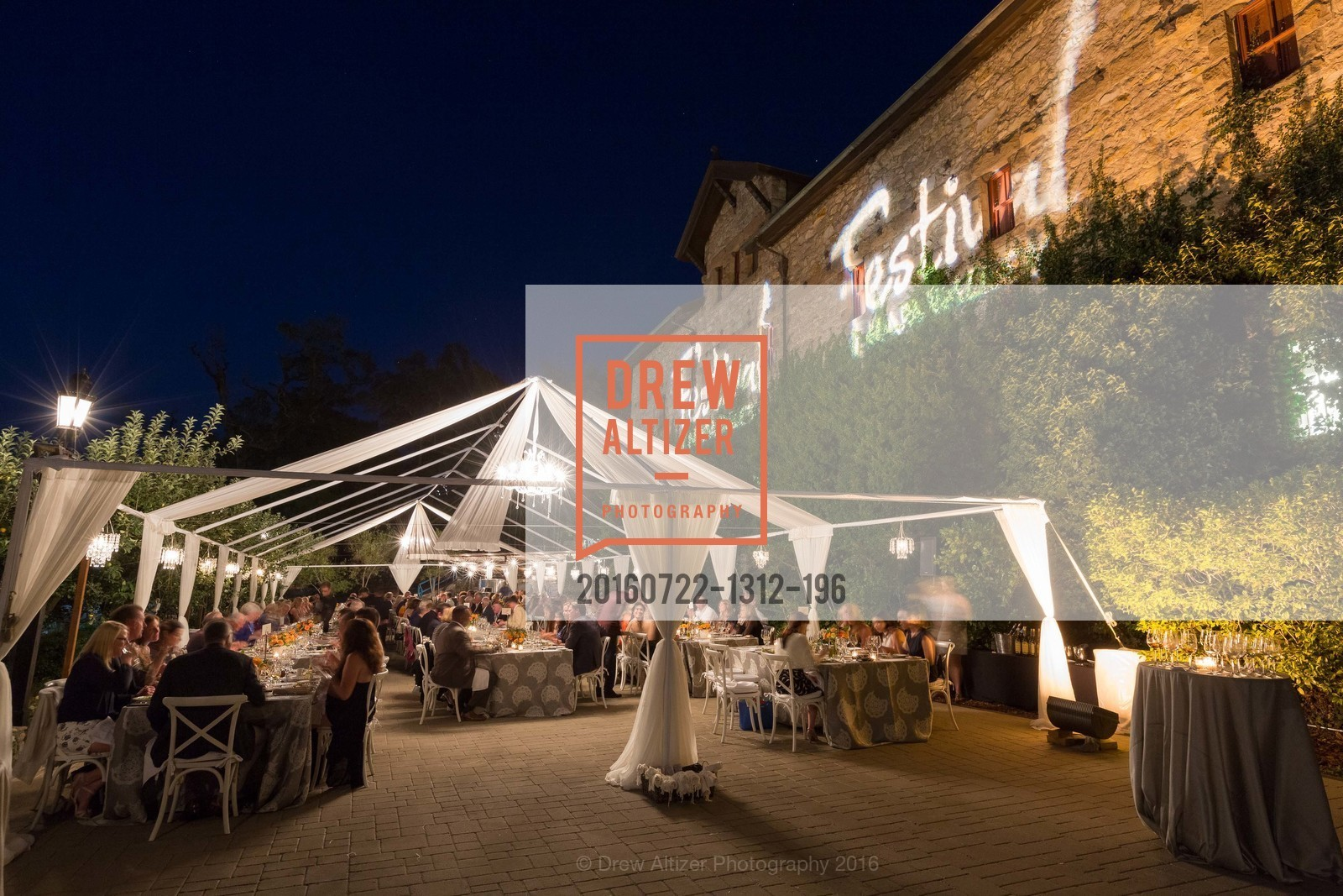Atmosphere, Festival Napa Valley Patron Dinner at The Culinary Institute of America, The Culinary Institute of America. 2555 Main Street, July 22nd, 2016