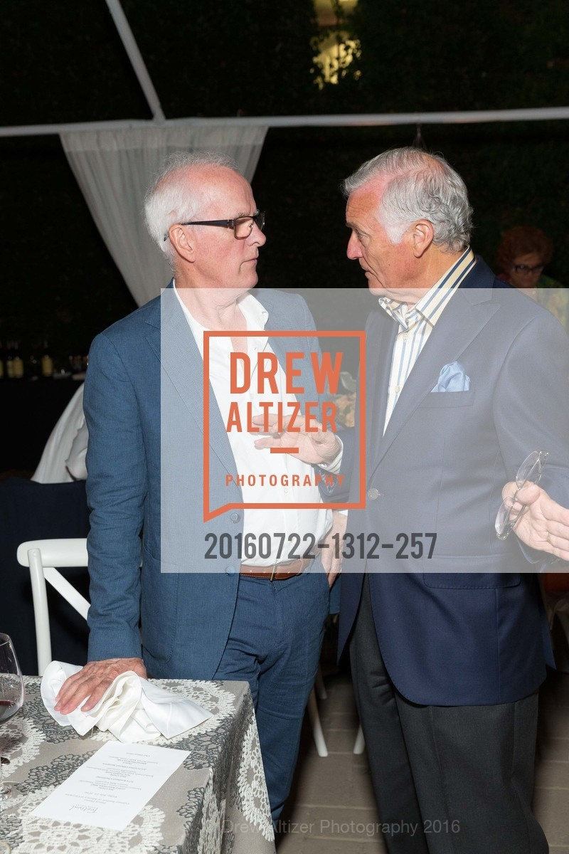 Helge Tomasson, Antonio Castellucci, Festival Napa Valley Patron Dinner at The Culinary Institute of America, The Culinary Institute of America. 2555 Main Street, July 22nd, 2016