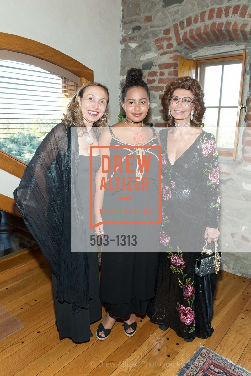 Beatrice Ruini, Camilla Ruini, Sophia Loren, Festival Napa Valley Tribute to Margrit Mondavi at Far Niente, Far Niente Winery. 1350 Acacia Dr, July 23rd, 2016