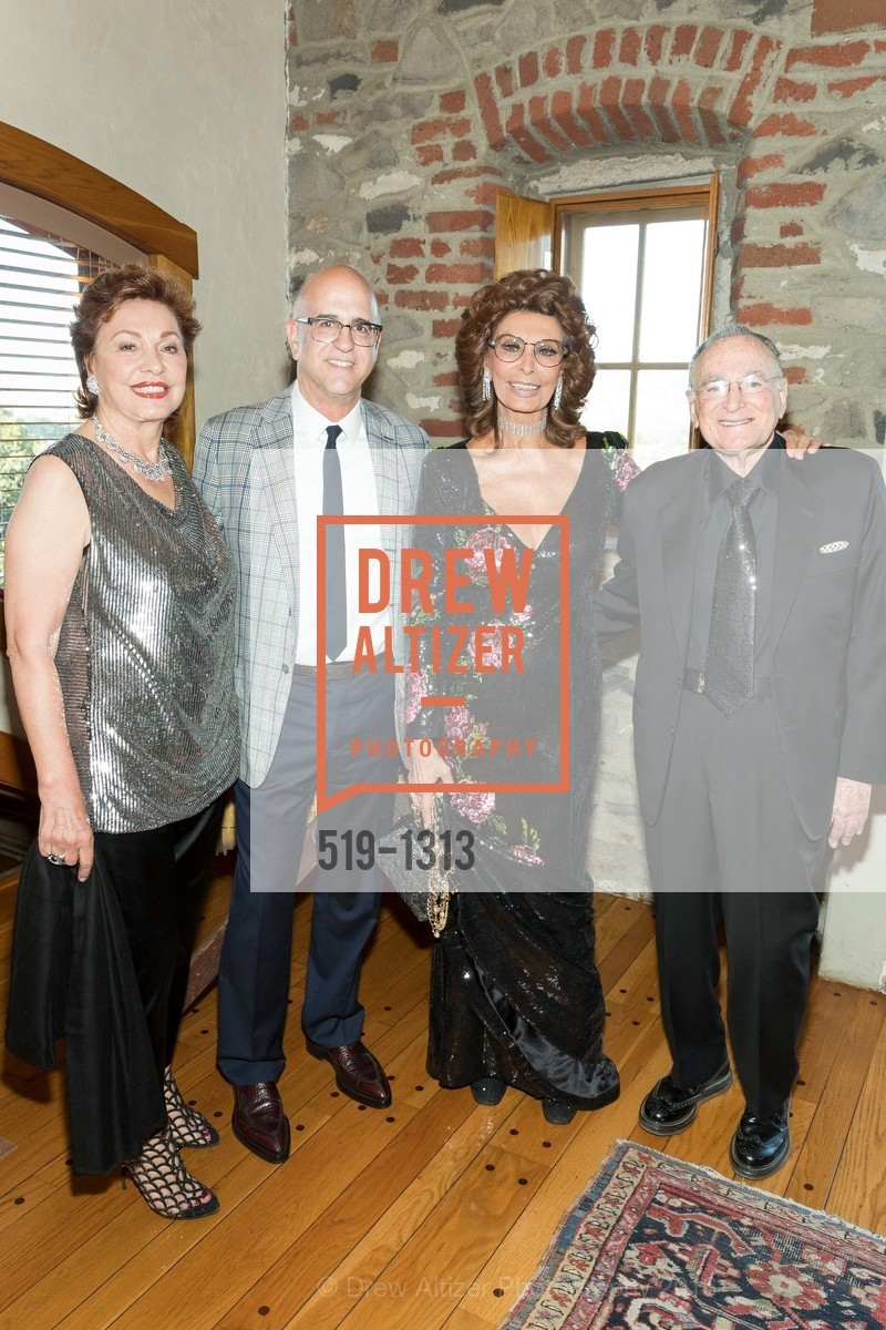 Maria Manetti Shrem, Ken Monnens, Sophia Loren, Jan Shrem, Photo #519-1313