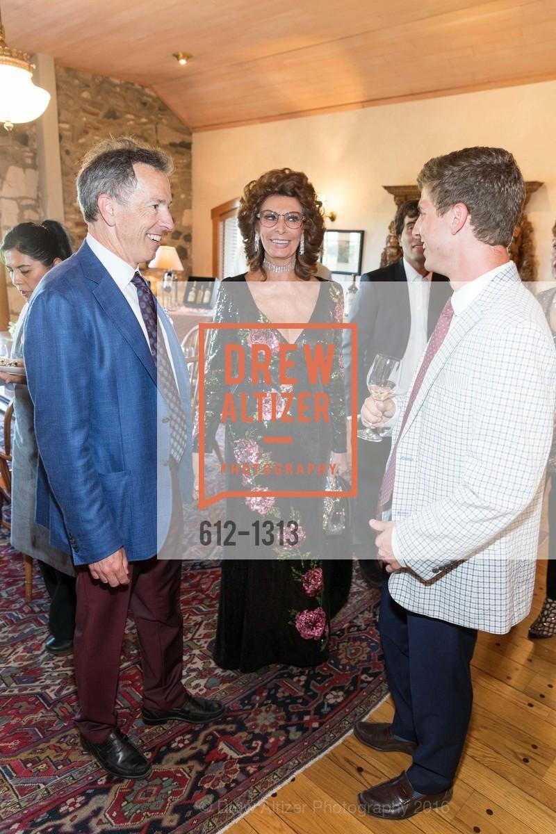 Rick Walker, Sophia Loren, Andrew Walker, Photo #612-1313