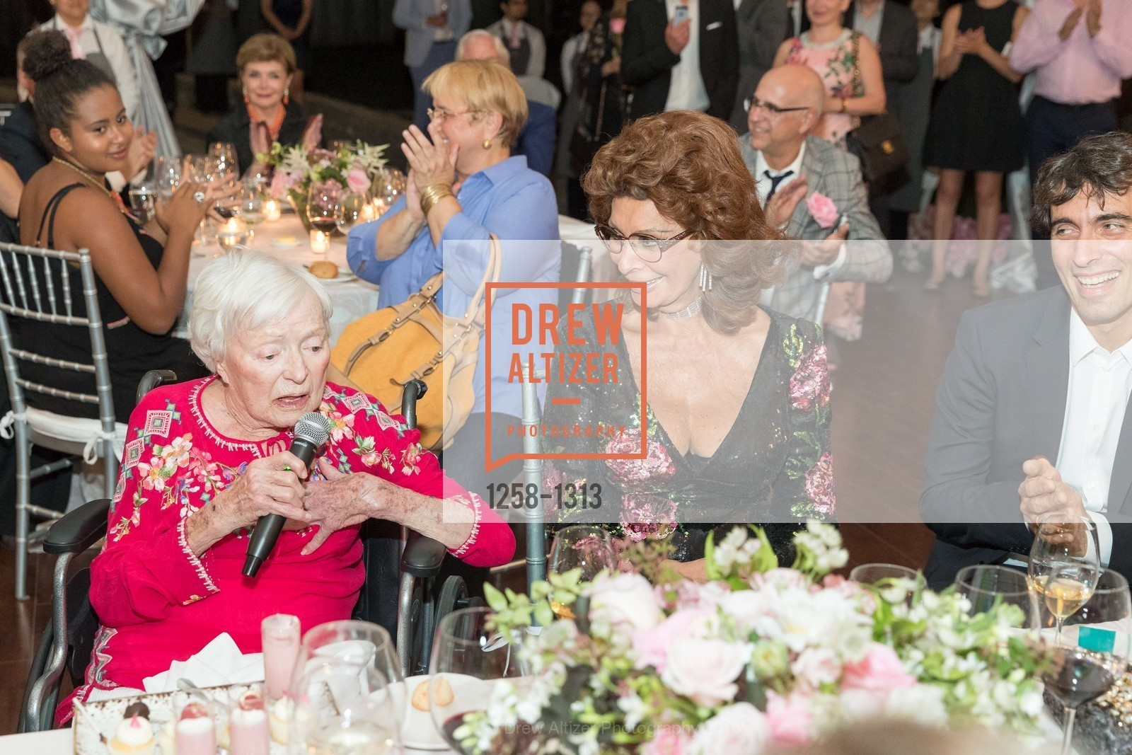 Margrit Mondavi, Sophia Loren, Festival Napa Valley Tribute to Margrit Mondavi at Far Niente, Far Niente Winery. 1350 Acacia Dr, July 23rd, 2016