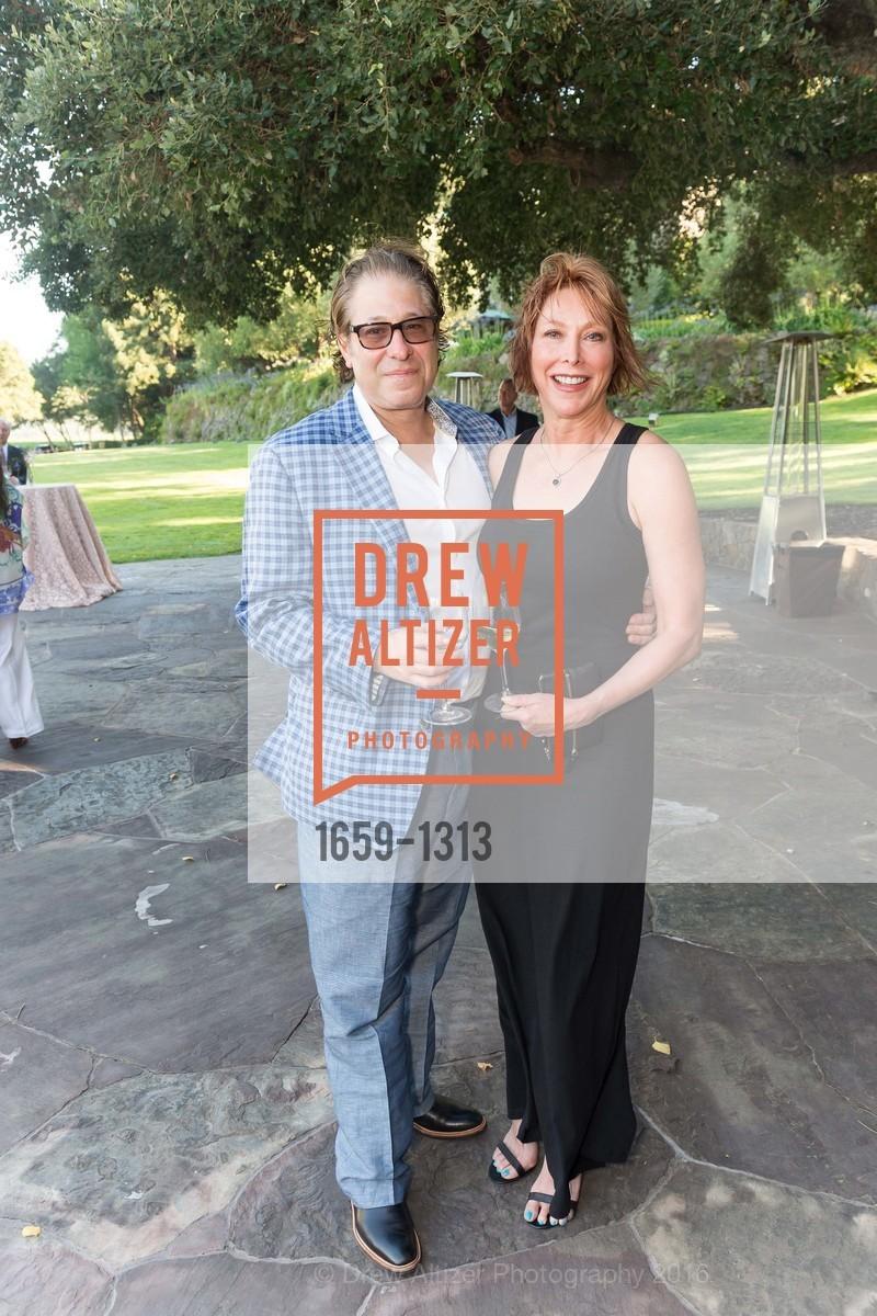 Rick Garber, Sonya Garber, Festival Napa Valley Tribute to Margrit Mondavi at Far Niente, Far Niente Winery. 1350 Acacia Dr, July 23rd, 2016