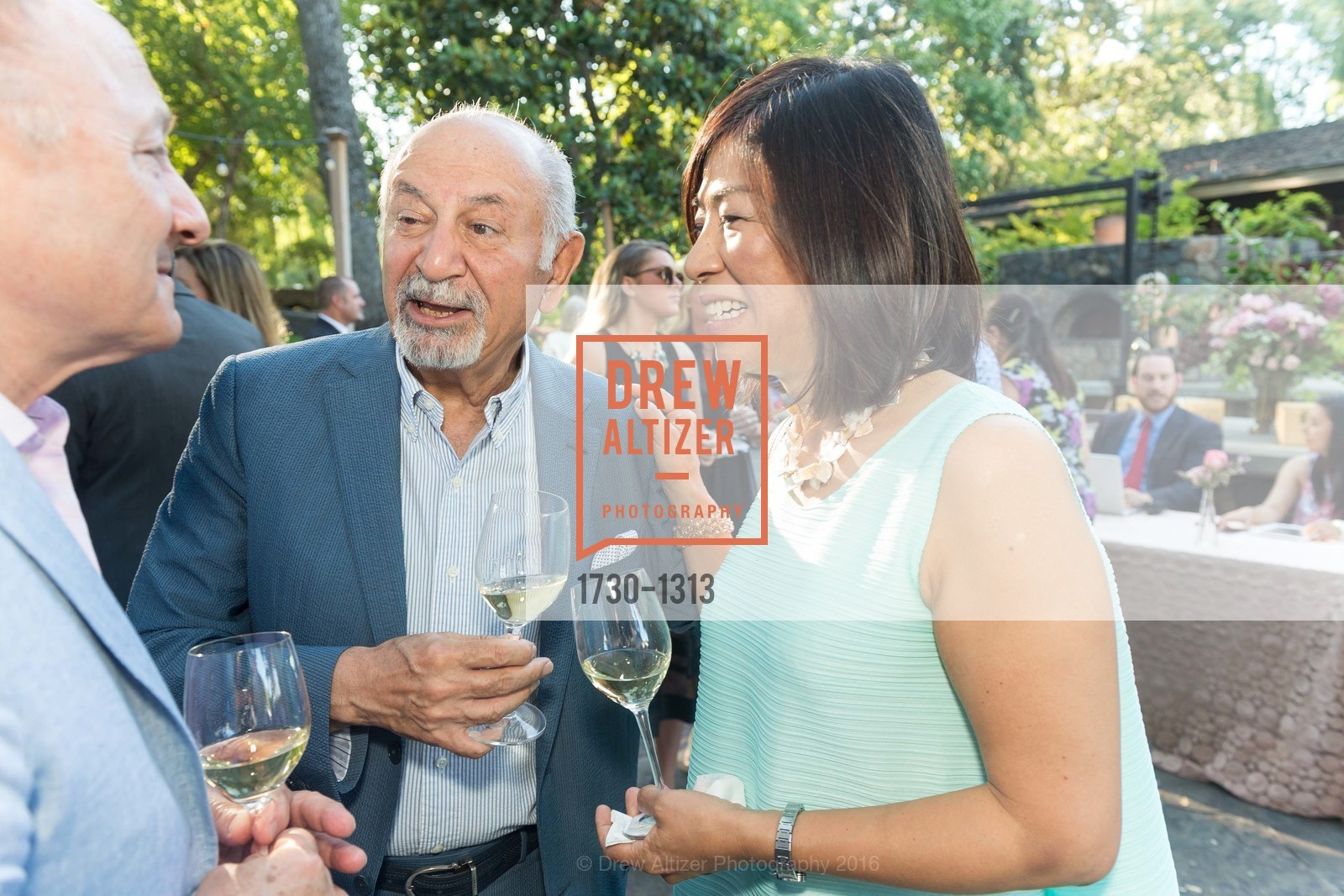 Darioush Khaledi, Naoko Dalla Valle, Festival Napa Valley Tribute to Margrit Mondavi at Far Niente, Far Niente Winery. 1350 Acacia Dr, July 23rd, 2016