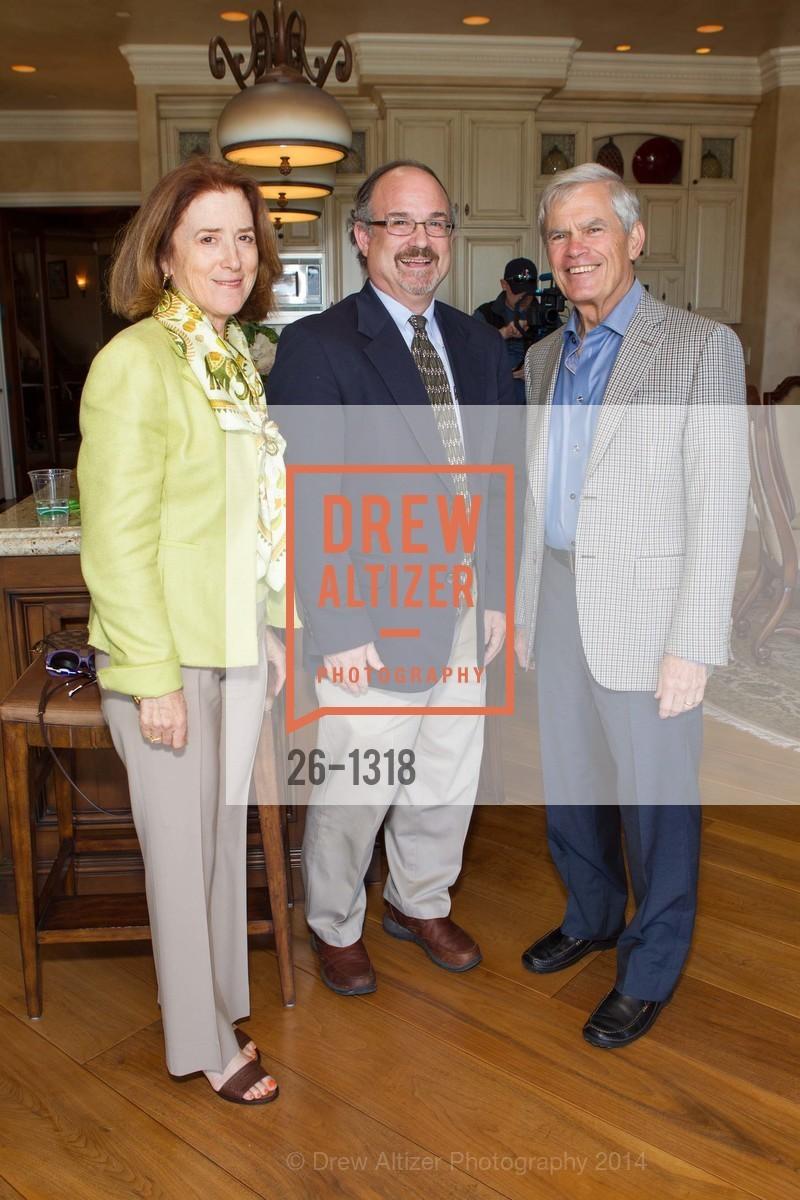 Susan Myers, John Aucott, Gib Myers, Bay Area Lyme Foundation's LymeAid 2014, 884 Portola Road, Suite A7. Portola Valley, CA 94028, April 27th, 2014