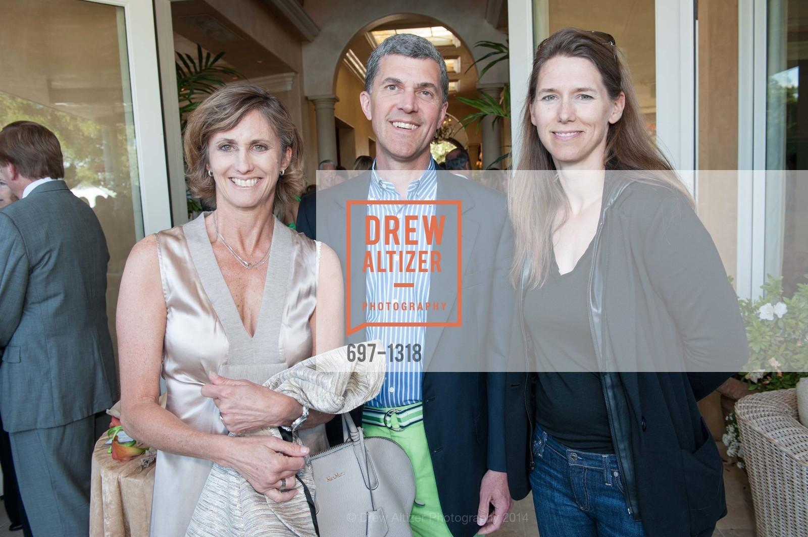 Sheri Sobrato Brisson, Rich Redelfs, Andre ABassallo, Bay Area Lyme Foundation's LymeAid 2014, 884 Portola Road, Suite A7. Portola Valley, CA 94028, April 27th, 2014