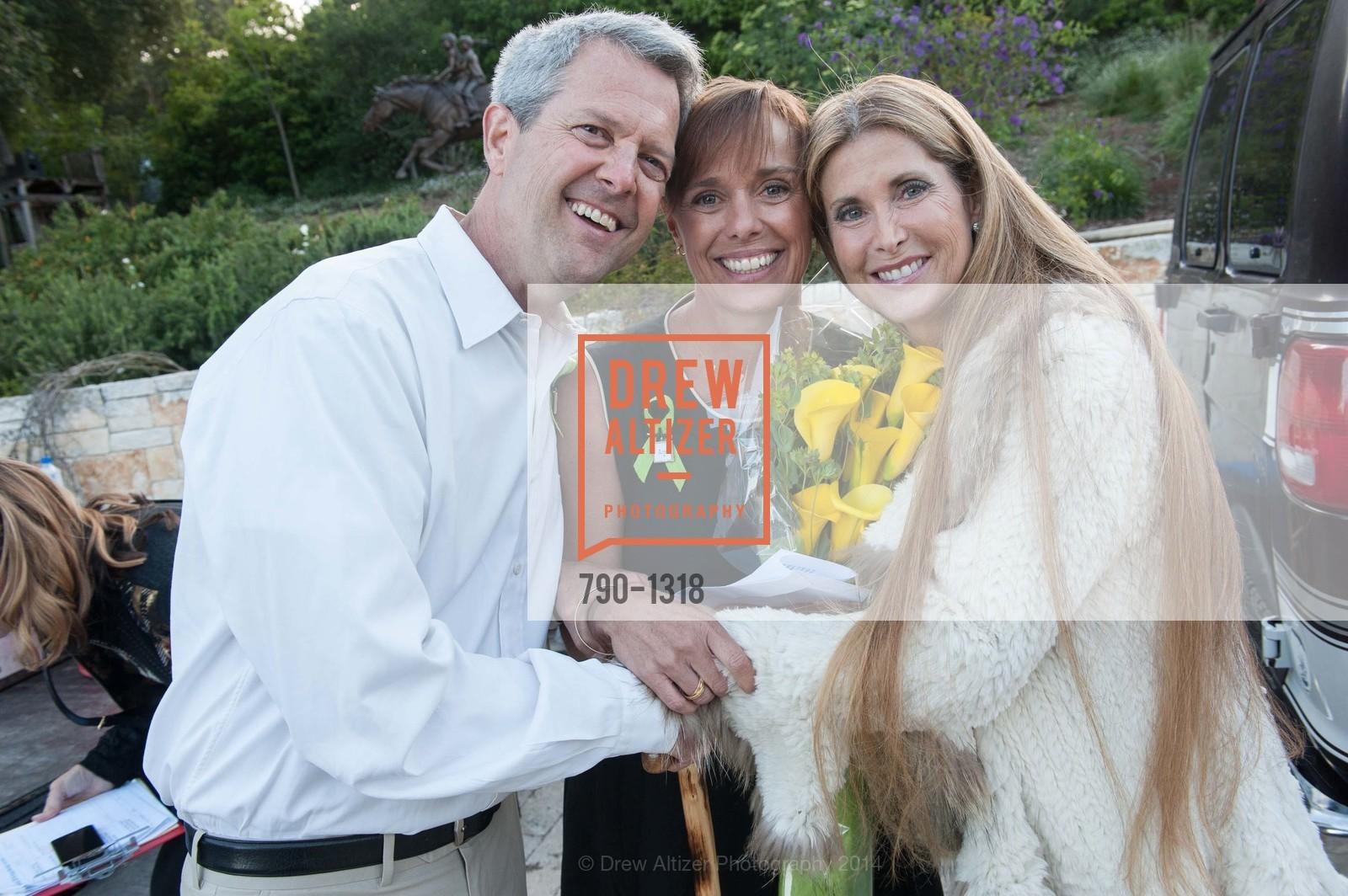 Scott Athearn, Camille Athearn, Shelley Cagan, Photo #790-1318