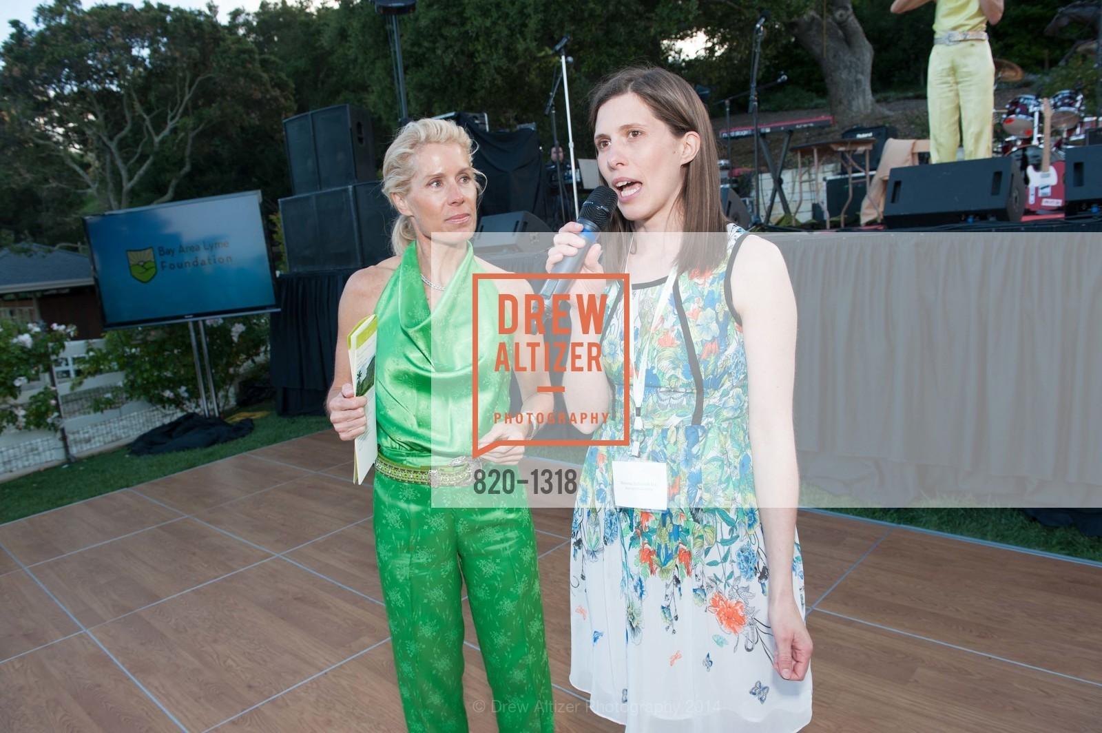 Amy Smith, Nevena Zubcevik, Bay Area Lyme Foundation's LymeAid 2014, 884 Portola Road, Suite A7. Portola Valley, CA 94028, April 27th, 2014