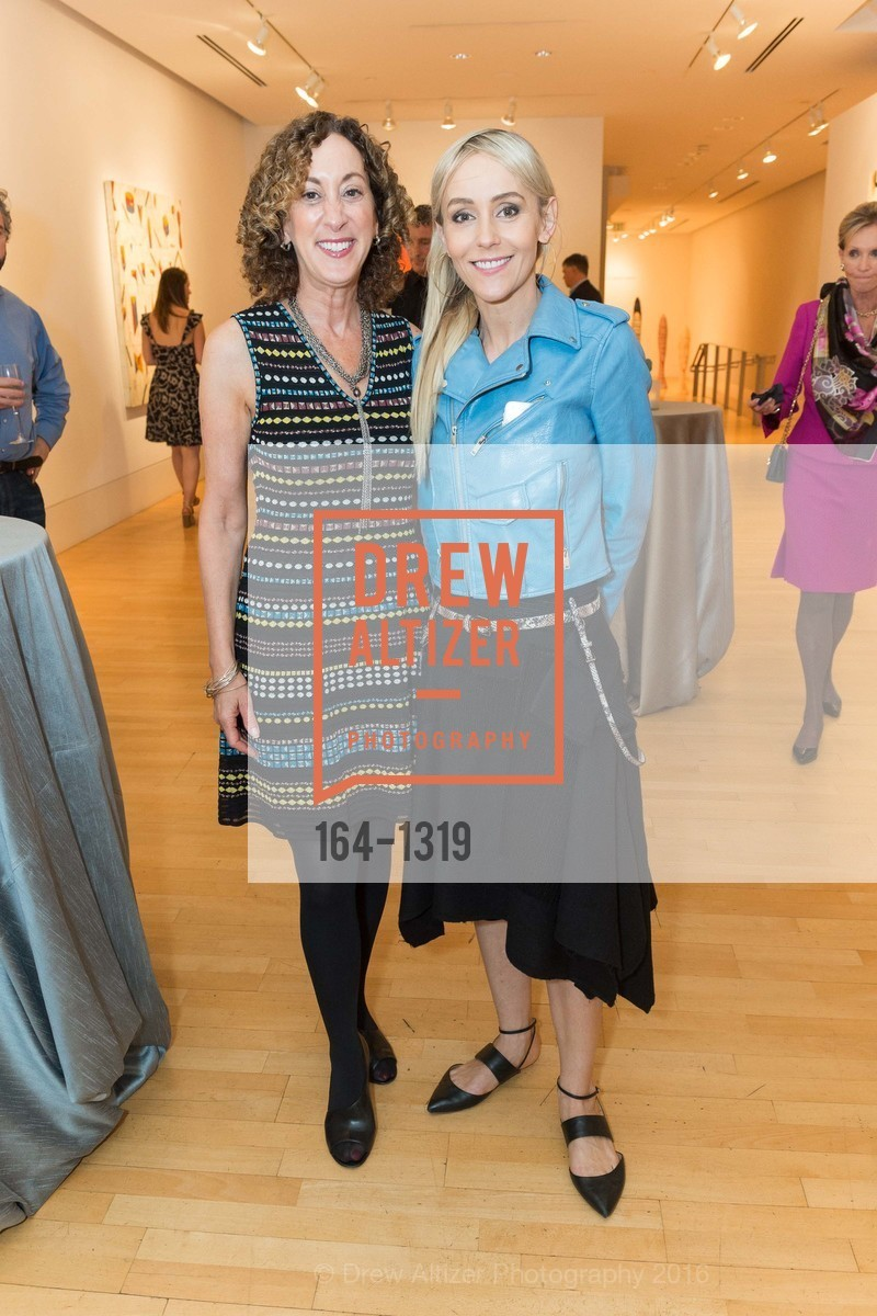 Susan Snyder, Agnieszka Kulczyk, Pre-party for A Masked Ball to Unmask Domestic Violence, Caldwell Snyder Gallery. 341 Sutter St, July 20th, 2016