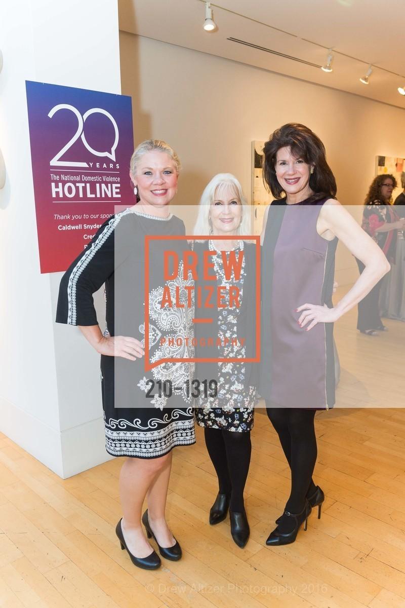 Katie Ray Jones, Arlene Inch, Elaine Mellis, Photo #210-1319