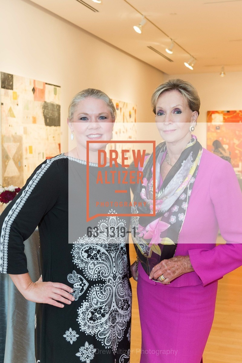 Katie Ray Jones, Sallie Huntting, Pre-party for A Masked Ball to Unmask Domestic Violence, Caldwell Snyder Gallery. 341 Sutter St, July 20th, 2016