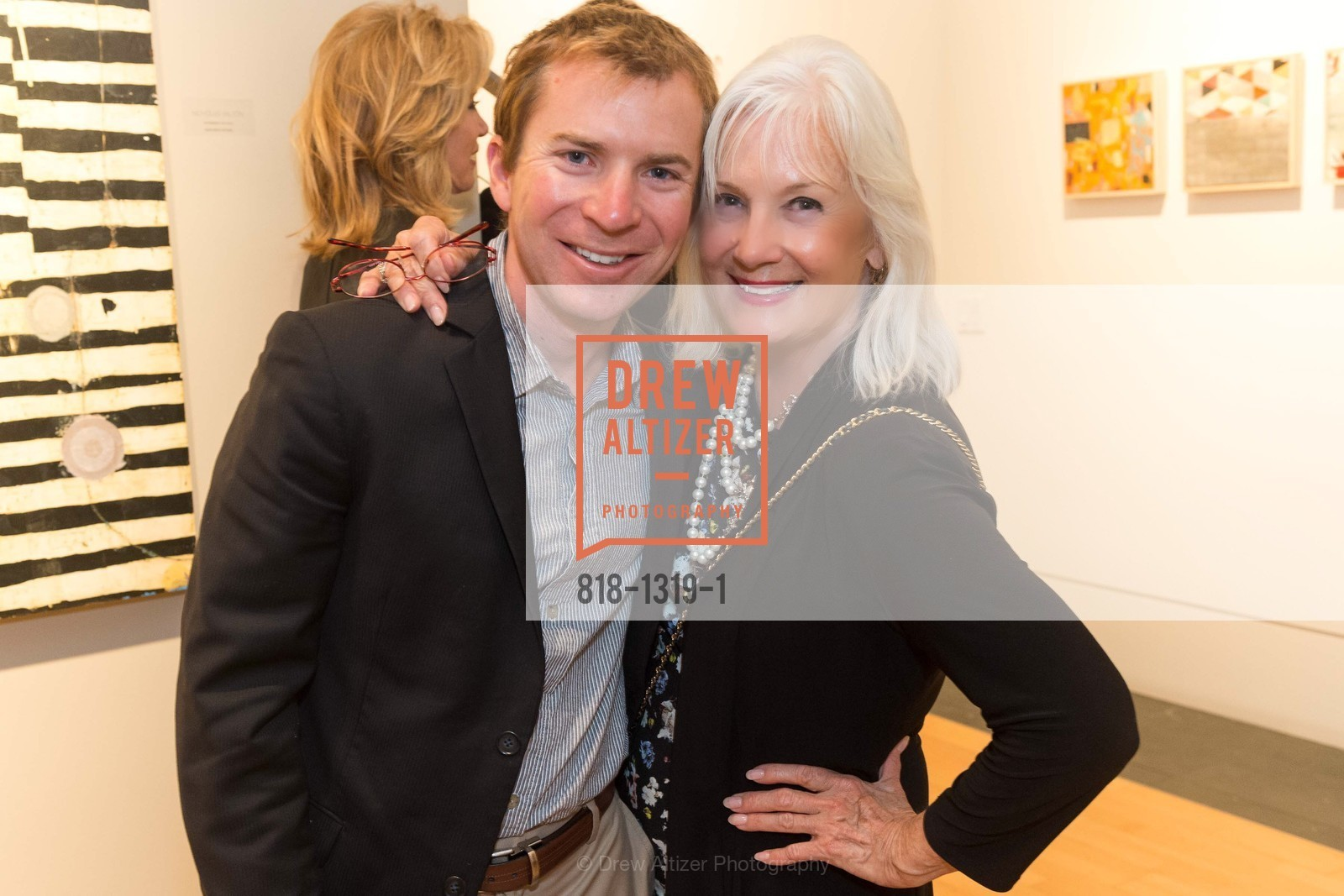 Trevor Felch, Arlene Inch, Pre-party for A Masked Ball to Unmask Domestic Violence, Caldwell Snyder Gallery. 341 Sutter St, July 20th, 2016