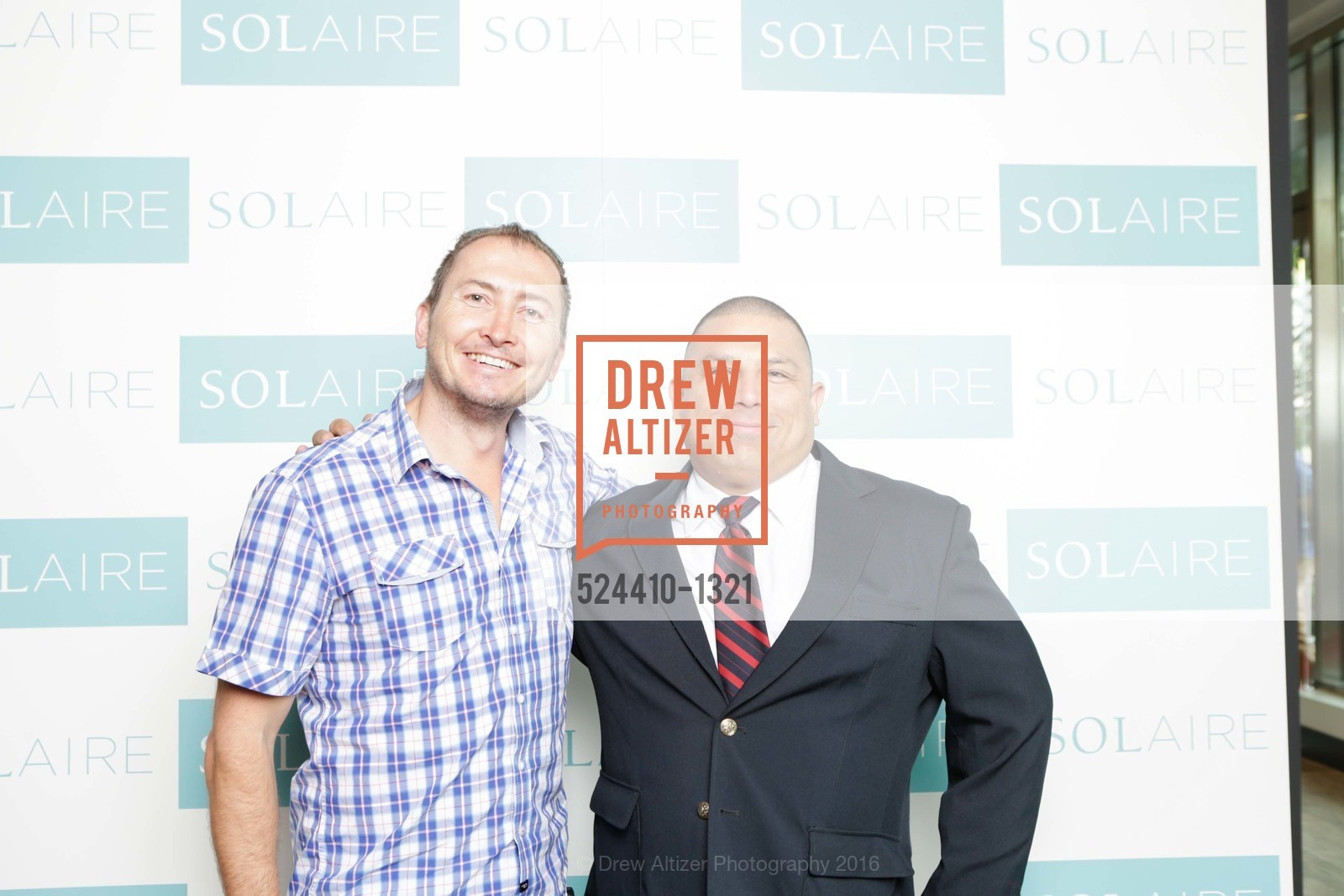 Step & Repeat, Solaire Grand Opening Party, July 27th, 2016, Photo