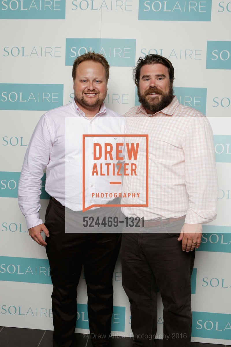 Doug Bend, Tucker Cottingham, Solaire Grand Opening Party, Solaire. 299 Fremont Street, SF, CA 94105, July 27th, 2016