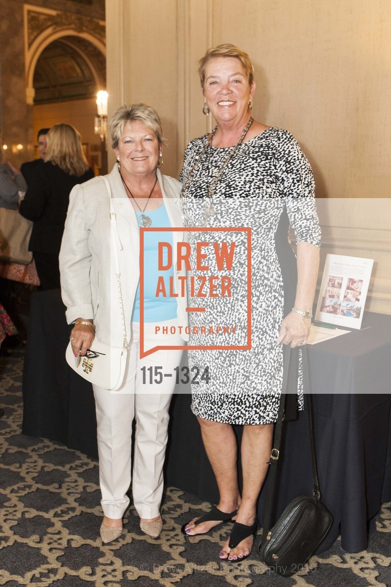 Debbie Maples, Donna Riley, The Salvation Army's 12th Annual Flower Power Luncheon, Sir Francis Drake Hotel, August 3rd, 2016