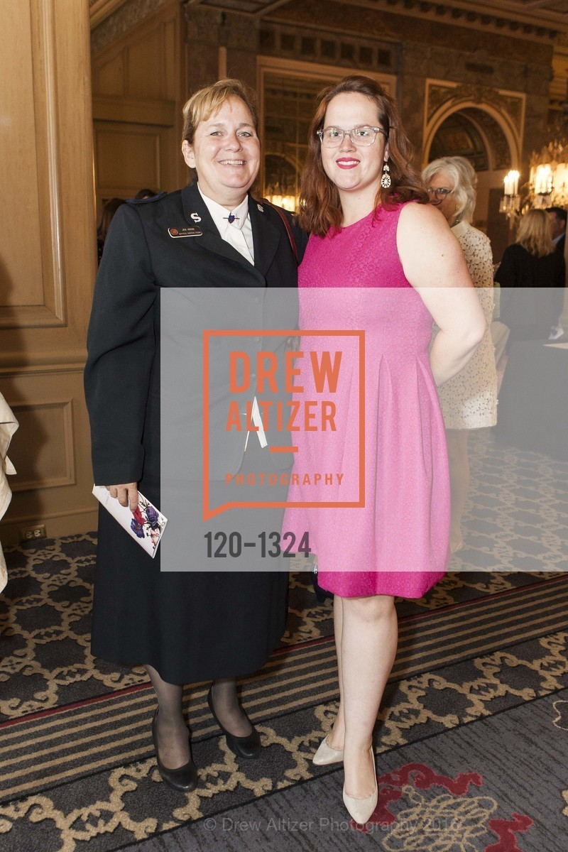 Jen Arens, Sarai Thay, The Salvation Army's 12th Annual Flower Power Luncheon, Sir Francis Drake Hotel, August 3rd, 2016