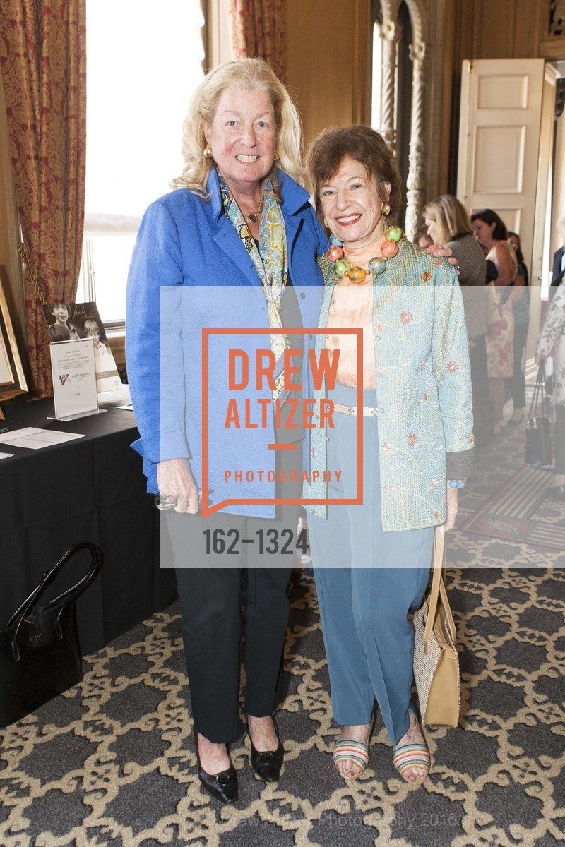 Laura King Pfaff, Peggy Huntington, The Salvation Army's 12th Annual Flower Power Luncheon, Sir Francis Drake Hotel, August 3rd, 2016