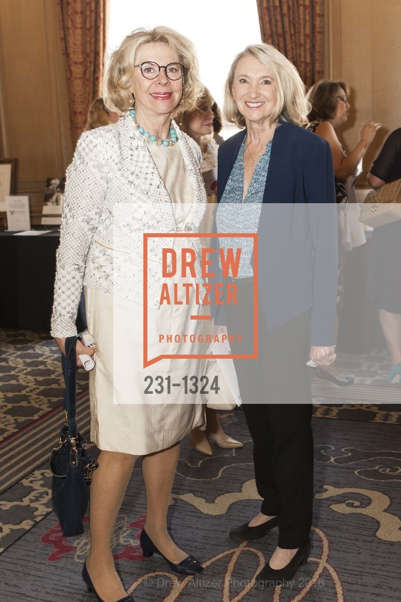 Catharina Swanstrom, Kathryn Lee, The Salvation Army's 12th Annual Flower Power Luncheon, Sir Francis Drake Hotel, August 3rd, 2016