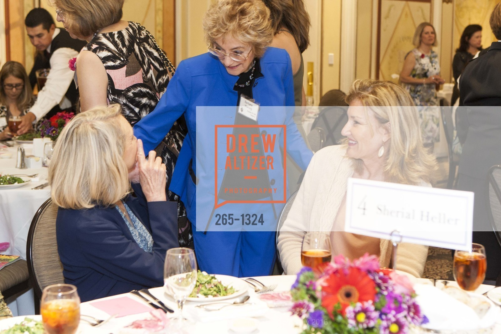 Barbara Wanvig, The Salvation Army's 12th Annual Flower Power Luncheon, Sir Francis Drake Hotel, August 3rd, 2016