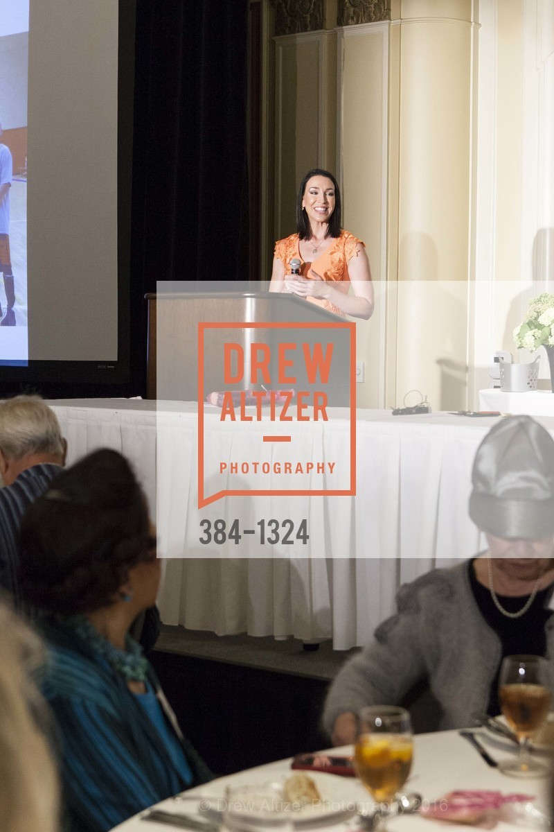 Leigh Martinez, The Salvation Army's 12th Annual Flower Power Luncheon, Sir Francis Drake Hotel, August 3rd, 2016