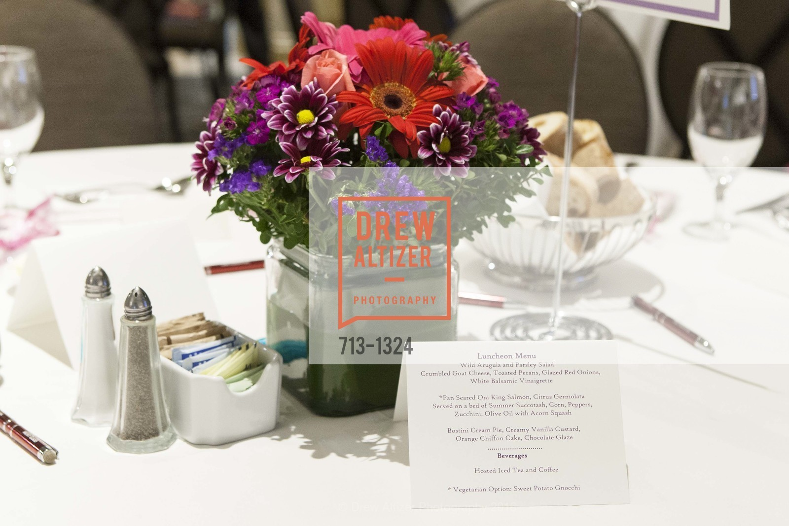 Atmosphere, The Salvation Army's 12th Annual Flower Power Luncheon, Sir Francis Drake Hotel, August 3rd, 2016