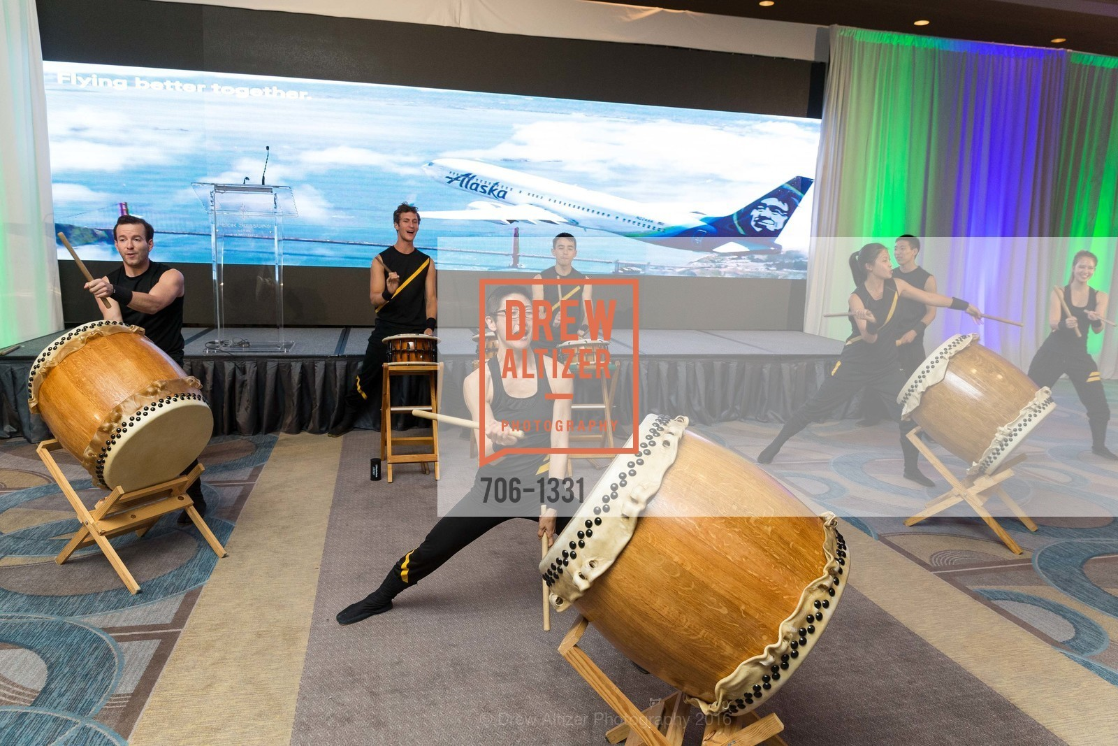 Atmosphere, Alaska Airlines Community Reception, Four Season Hotel. 757 Market Street, August 2nd, 2016