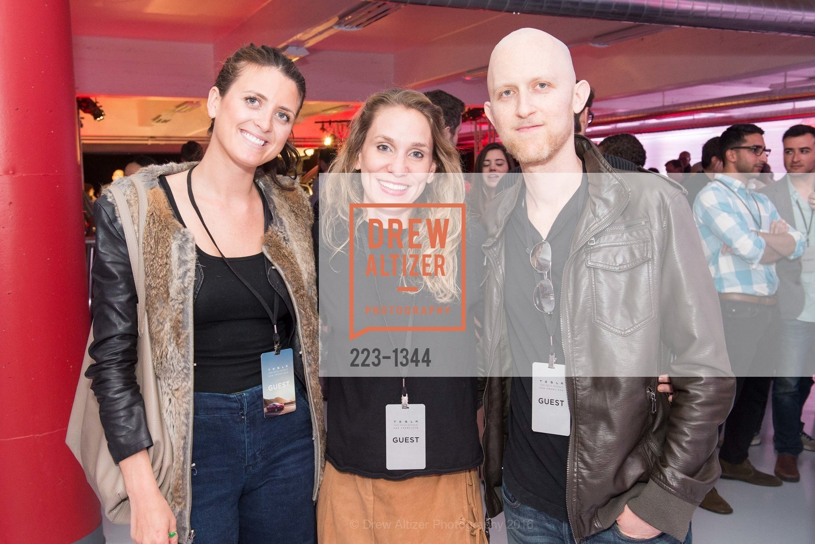 Isabelle De Laperouse, Elizabeth Louro, George Ban-Weiss, Photo #223-1344