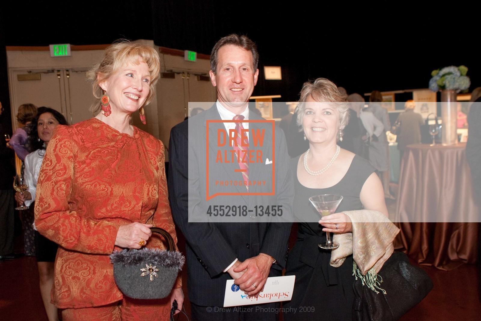 Marty Blum with Kenneth Kushman and Carolyn Muir
