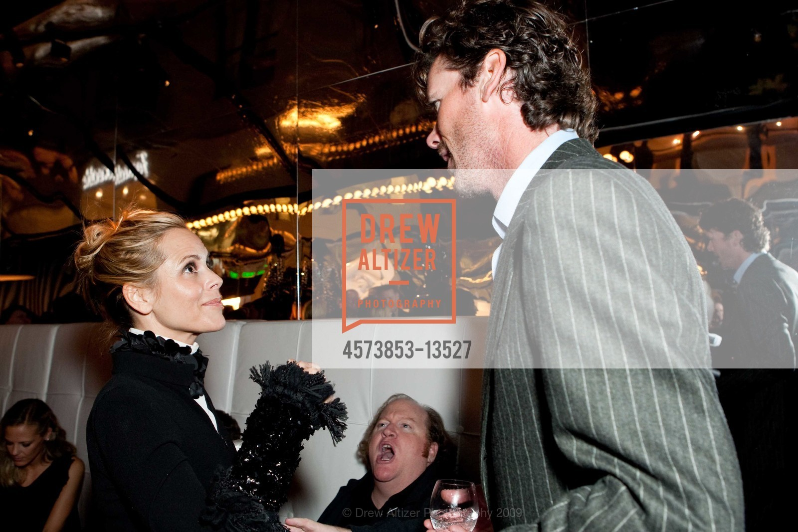 Maria Bello With Billy Getty