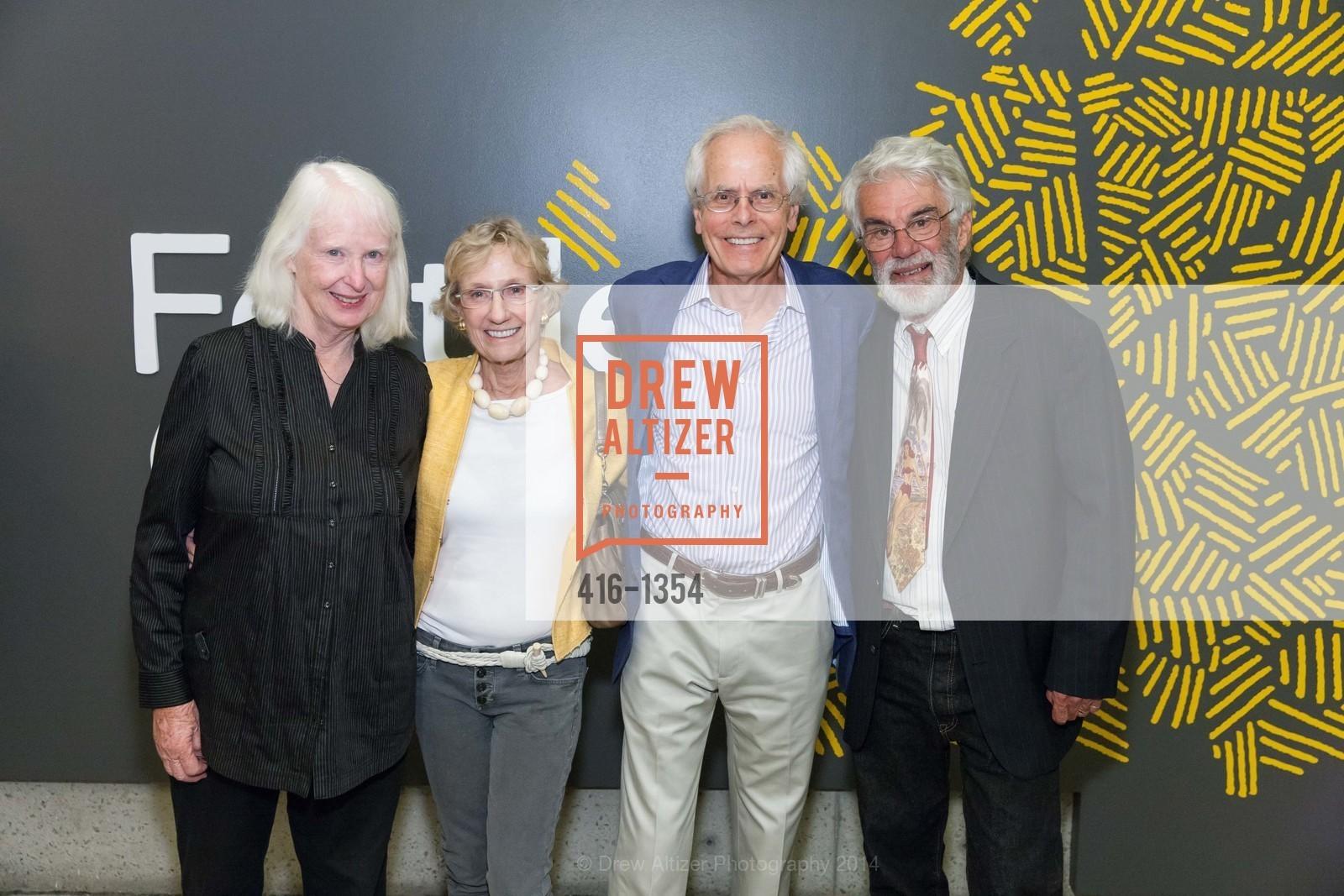 Martha Shaw, Nancy Bechtle, Joachim Bechtle, Richard Shaw, Photo #416-1354