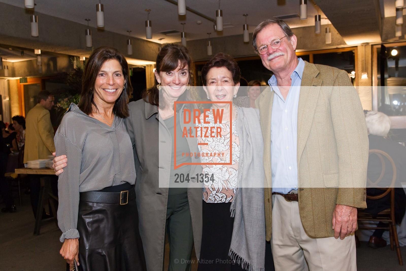 Susan Swig, Lisille Matheson, Roselyne Swig, Henry Matheson, Photo #204-1354