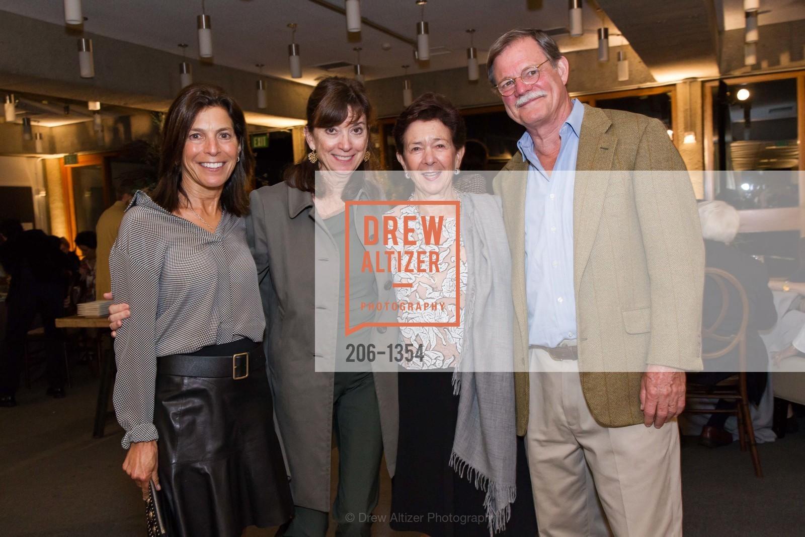 Susan Swig, Lisille Matheson, Roselyne Swig, Henry Matheson, Photo #206-1354