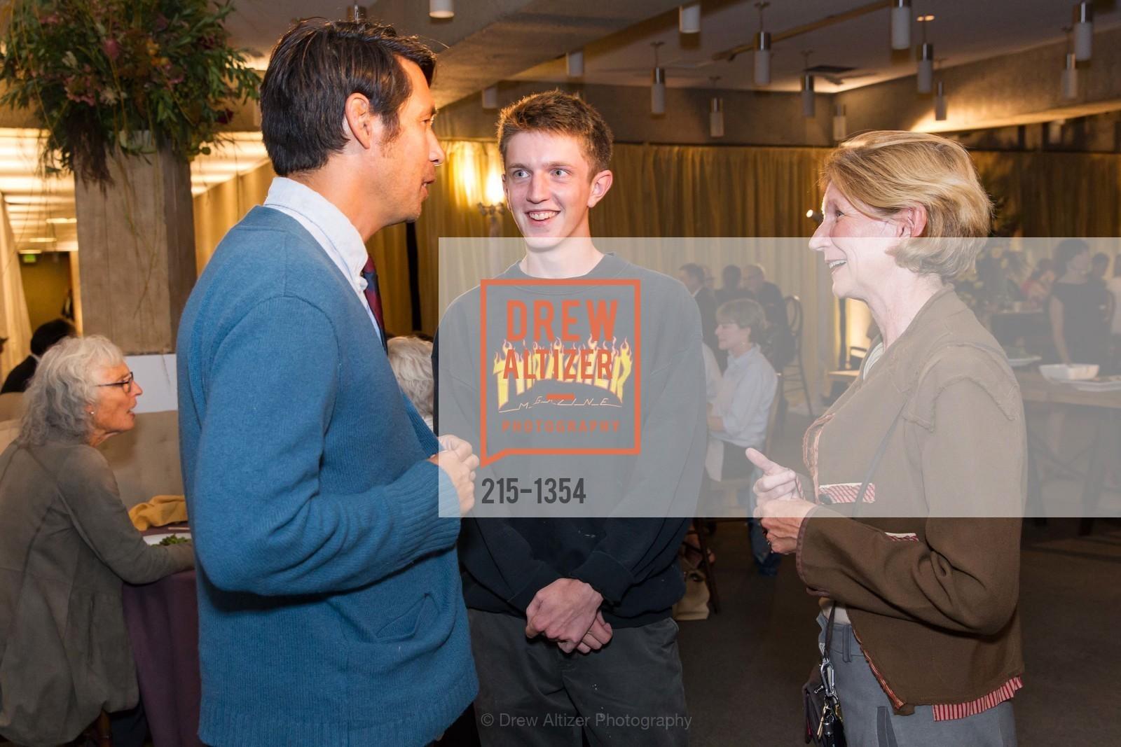 Raymond Virgel, Brem Finnie, Penelope Finnie, Photo #215-1354