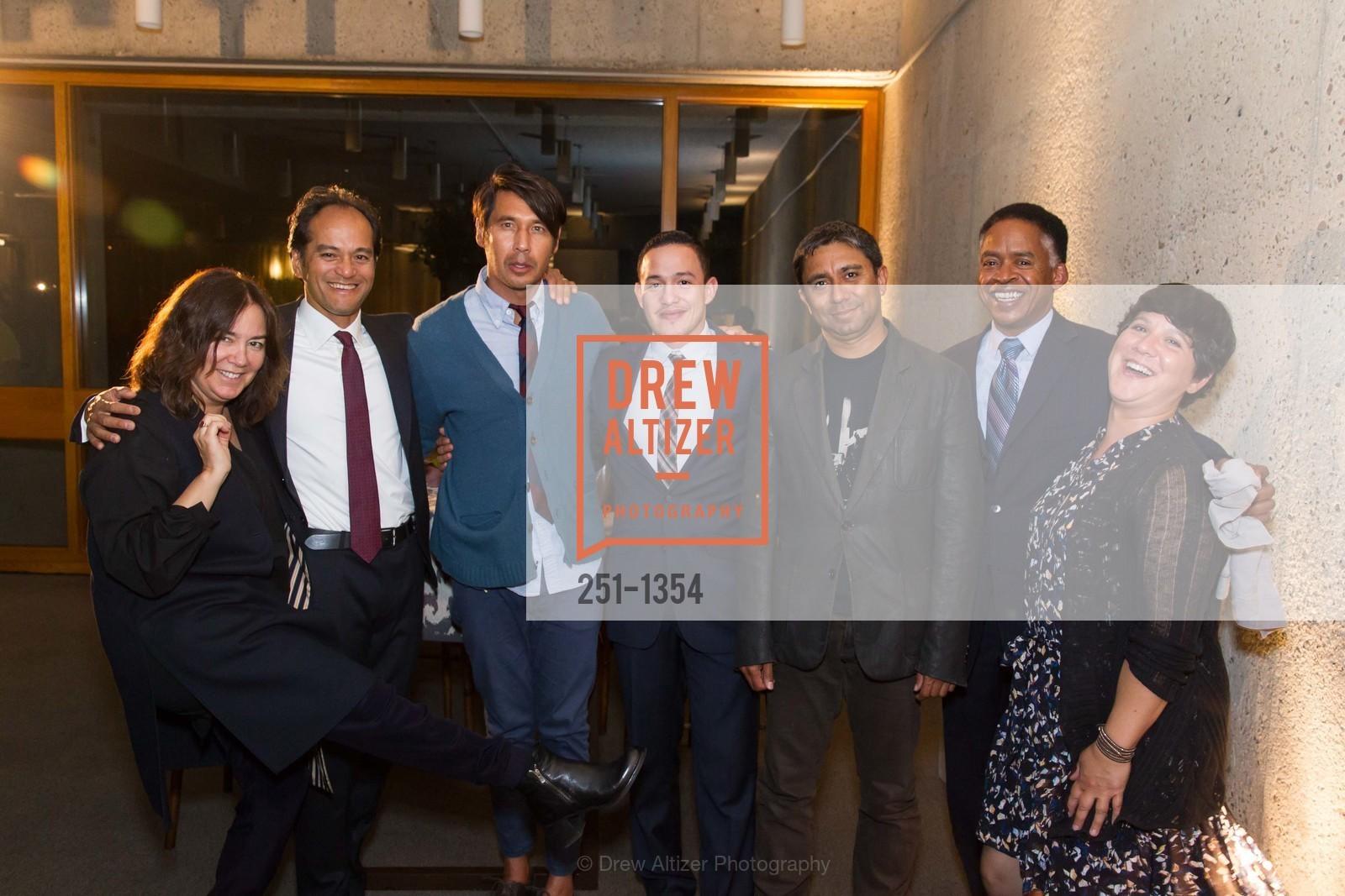 Domitilla Getty, Rene Deguzman, Raymond Virgel, Alexander Pena, Mike Moye, Photo #251-1354
