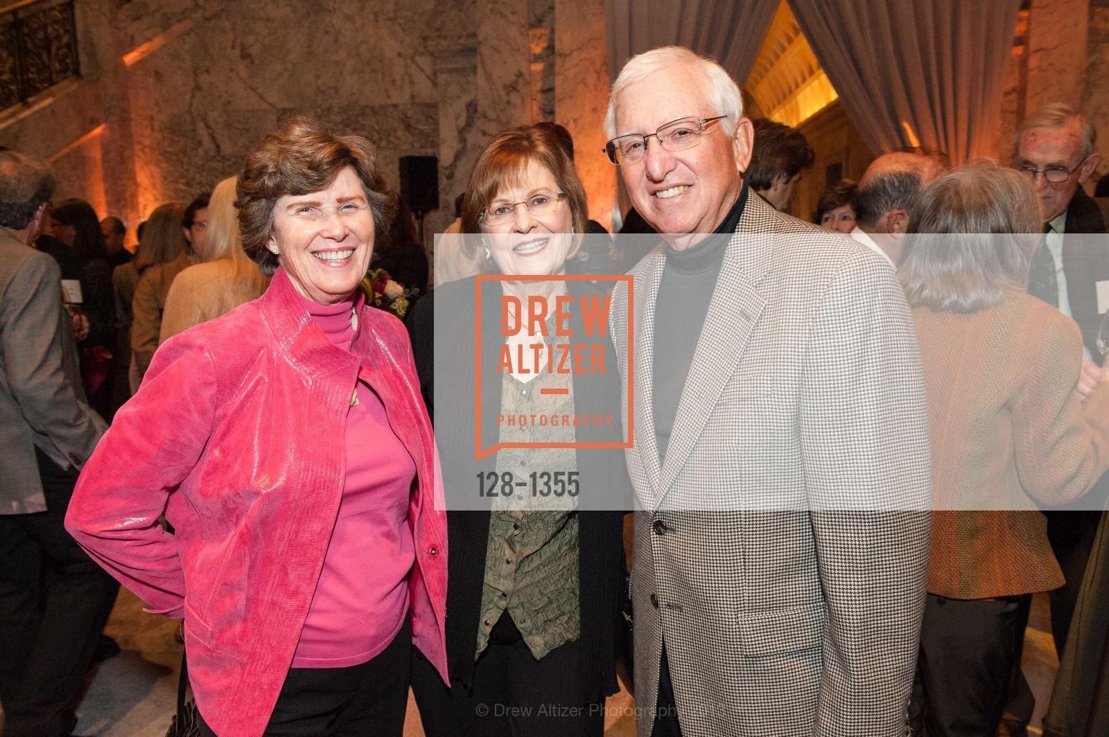 Carol Friedman, Barbara Oshman, Joel Friedman, Photo #128-1355