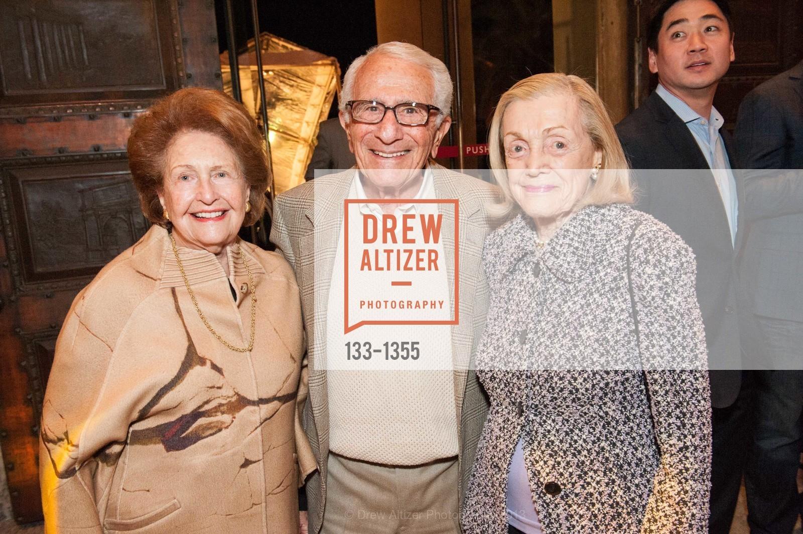 Phyllis Moldaw, Mervin Morris, Roz Morris, Photo #133-1355