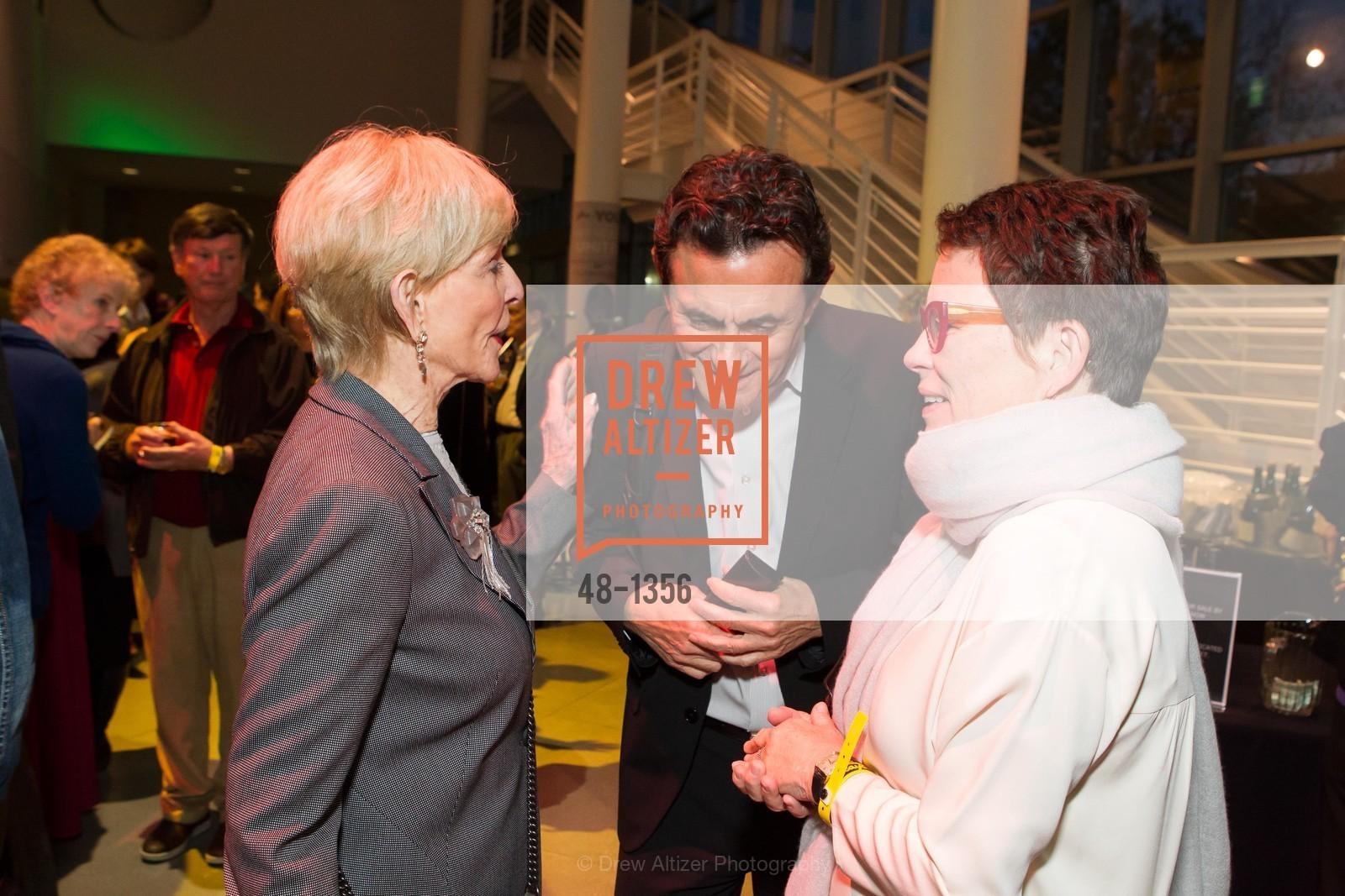 Shirley Davis, Neal Benezra, Maria Makela, Photo #48-1356