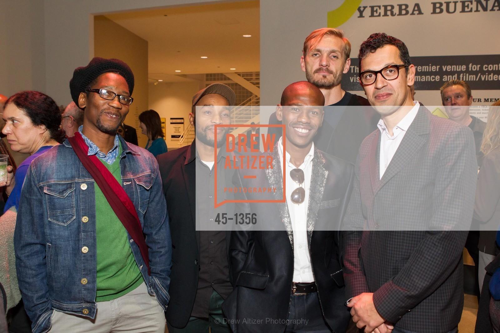 Sello Pesa, Humphrey Maleka, Erian Ntsmpu, Vaughn Sadie, Dominic Willston, Photo #45-1356