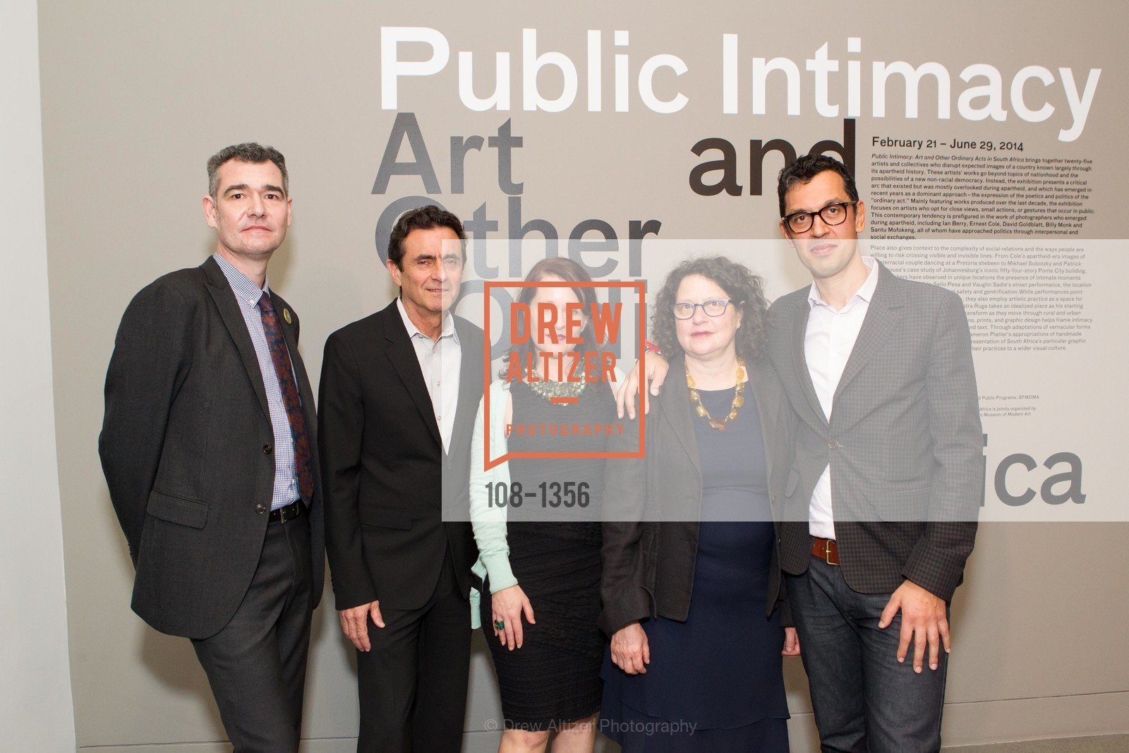 Frank Smigiel, Neal Benezra, Deborah Cullinan, Betti-Sue Hertz, Dominic Willston, Photo #108-1356